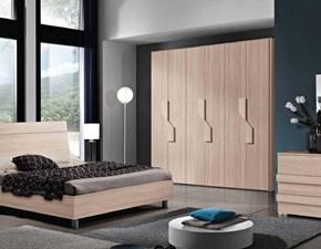 Camera da letto completa Chantal di M.C.S. armadi con uno sconto del 13% MODERNA