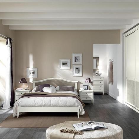 camera da letto completa in finitura bucaneve occasione