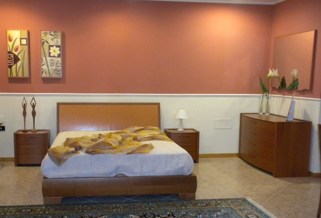 Camera da letto in ciliegio completa a met prezzo - Tinte camere da letto ...