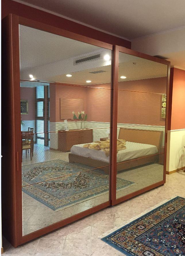 Camera da letto in ciliegio completa a met prezzo camere a prezzi scontati - Camera da letto marinara ...