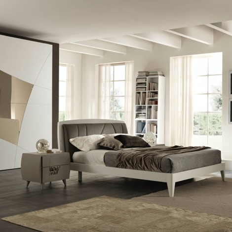 Camera da letto stone linea moderna in promozione - Testiera letto moderna ...