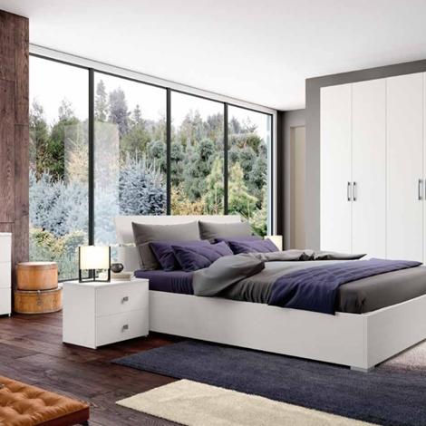 Camera da letto matrimoniale completa in stile moderno cod for Costo camera da letto completa