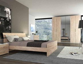 Camera da letto matrimoniale completa in stile moderno cod. 52