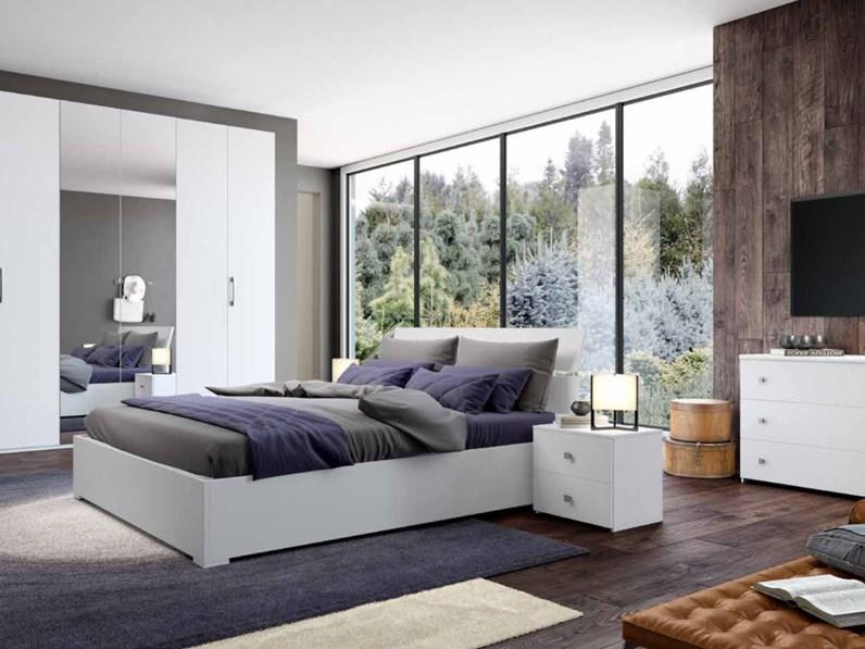 Camera da letto matrimoniale completa in stile moderno cod 53 for Prezzo camera matrimoniale