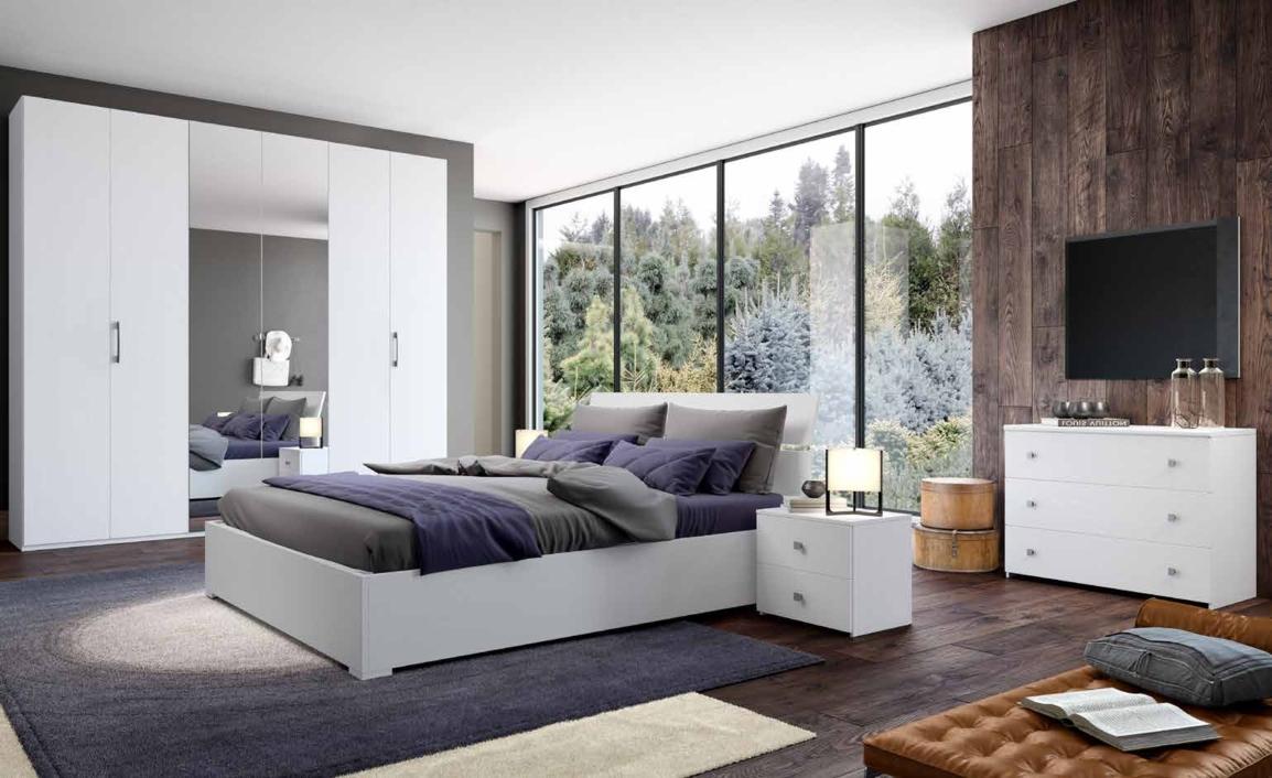 Camera da letto matrimoniale completa in stile moderno cod for Prezzo camera da letto matrimoniale