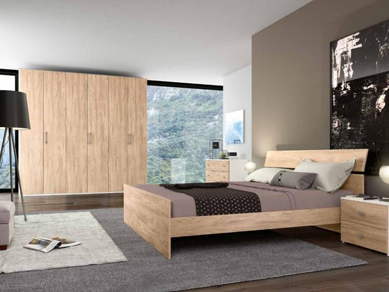Camera da letto matrimoniale completa in stile moderno cod 54 for Camere da letto economiche online