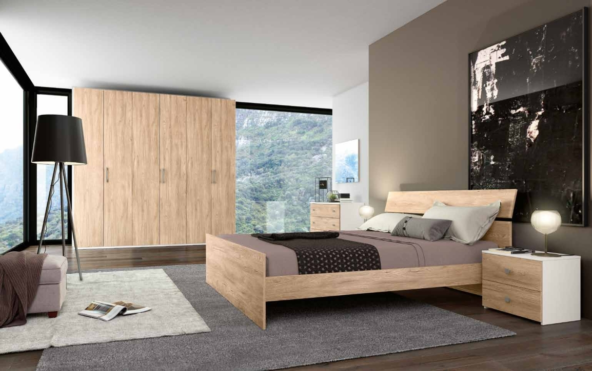 Camera da letto matrimoniale completa in stile moderno cod 54 camere a prezzi scontati - Camera da letto completa ...
