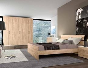 Camera da letto matrimoniale completa in stile moderno cod. 54