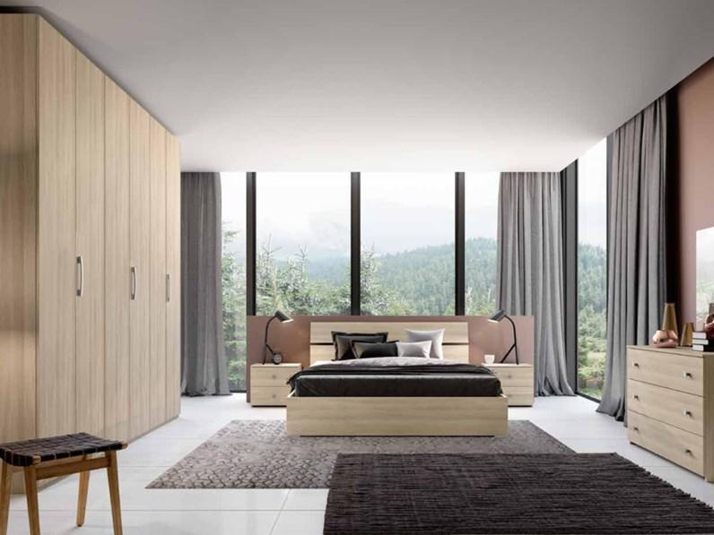 Camera da letto matrimoniale completa in stile moderno cod. 55 ...