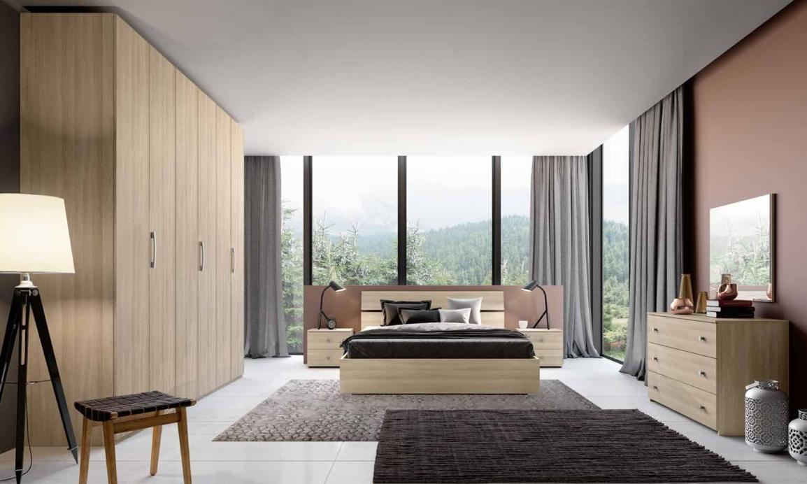 Camera da letto matrimoniale completa in stile moderno cod for Camera matrimoniale offerta