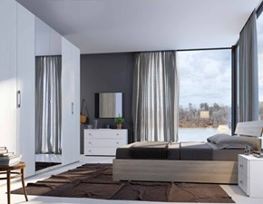Camera da letto matrimoniale completa in stile moderno cod. 56