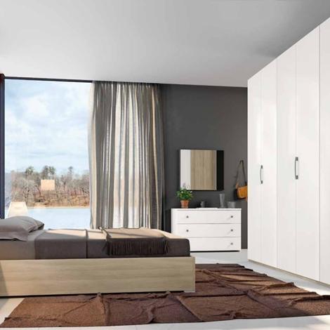 Camera da letto matrimoniale completa in stile moderno cod - Letto stile moderno ...