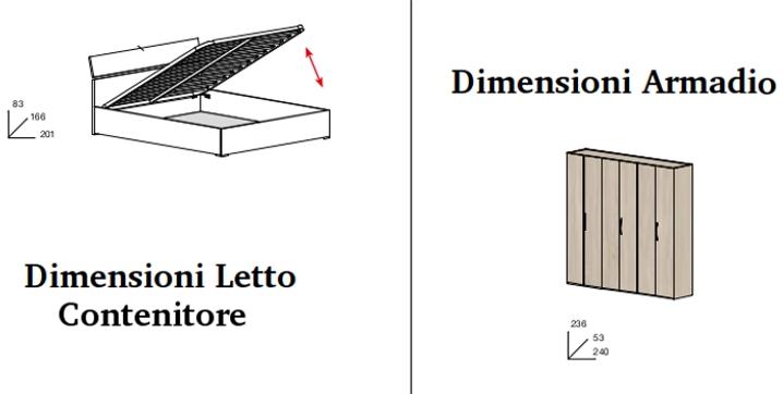 Stunning Dimensioni Minime Camera Da Letto Matrimoniale Gallery ...