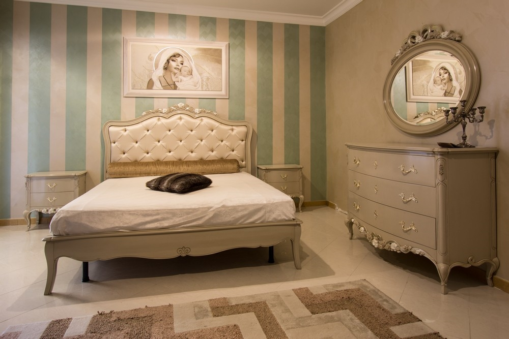 Camera da letto stella del mobile contemporanea shabby for Camere da letto minimal chic