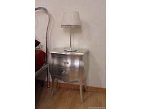 Lampada Lucilla in foglia argento