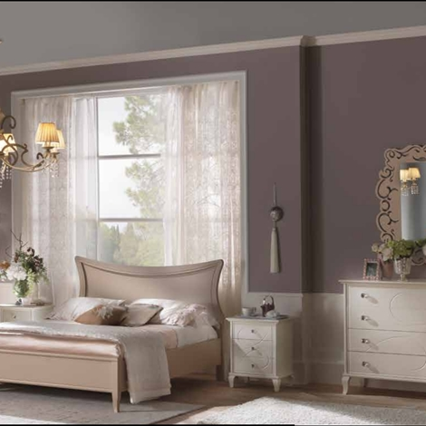 outlet Camera in legno massello modello Sogno