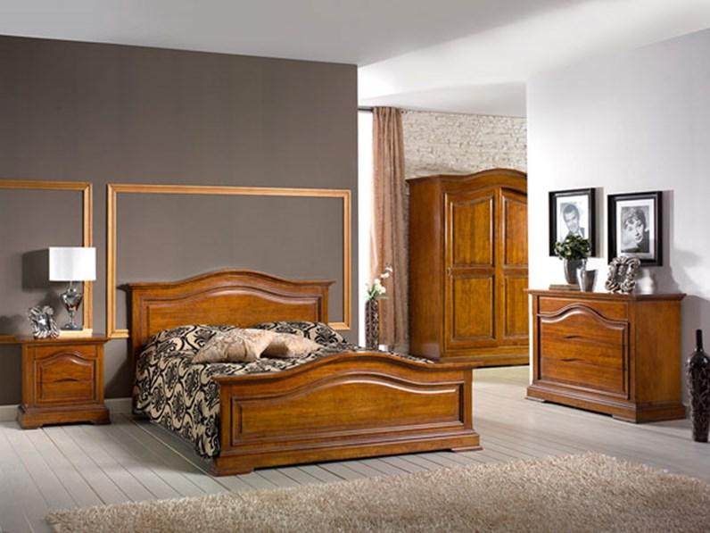 Camera matrimoniale classica in legno di qualit scontata del 50 camere a prezzi scontati - Camera matrimoniale classica ...