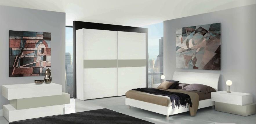 pitture per camere da letto moderne  picayune.us. moderna camera da letto bianca laccata ...