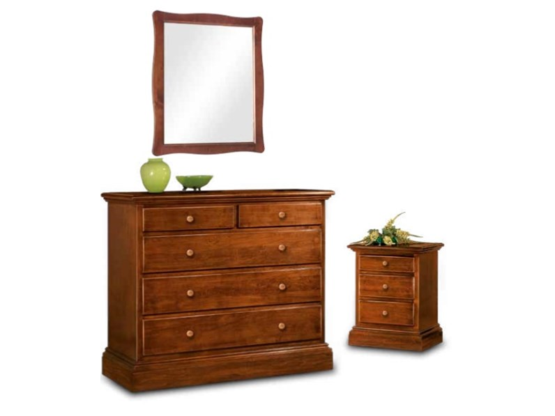 Camera matrimoniale completa classica in legno a prezzo - Camera matrimoniale classica ...
