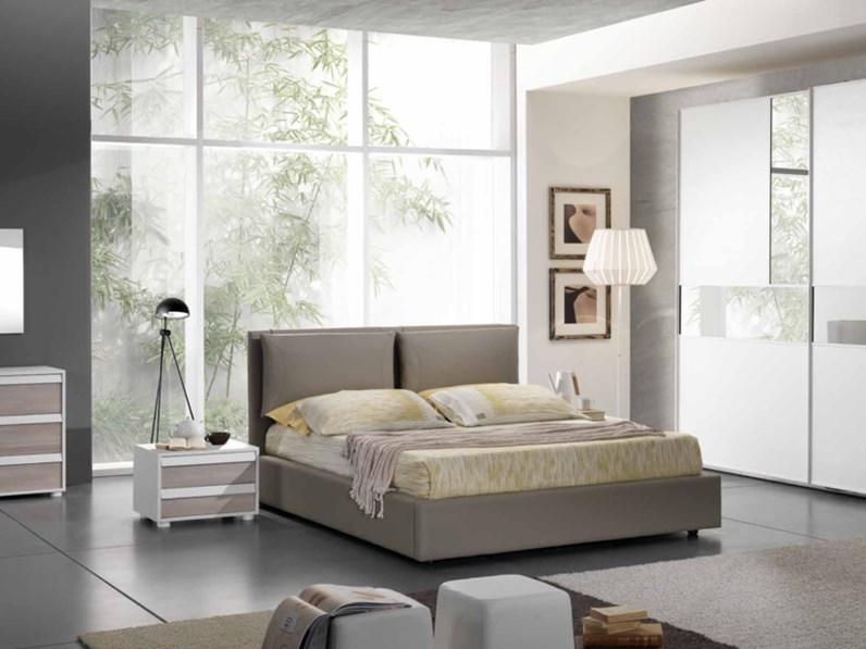 Camera matrimoniale completa Collezione Miluna modello Kronos 100