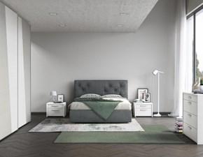 Camera matrimoniale completa con letto con contenitore
