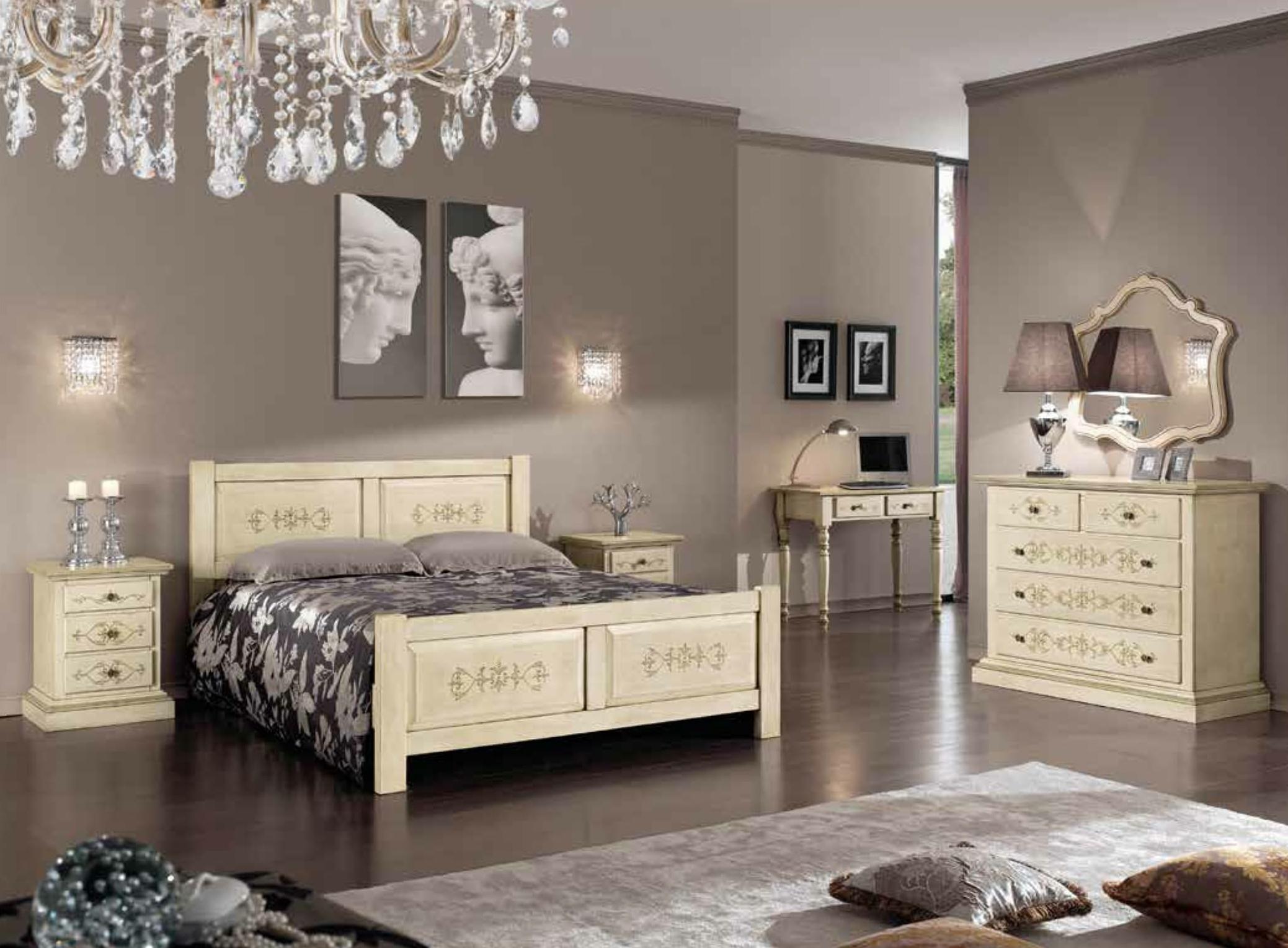 Camera completa classica avorio anticato scontato del 25 for Prezzo medio della casa di 3 camere da letto