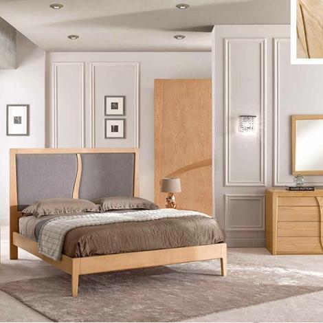 Camera matrimoniale completa in legno massello camere a for Camera matrimoniale completa economica