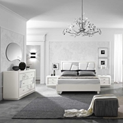 Camera  Chantal bianco  Contemporanee Legno Camera completa