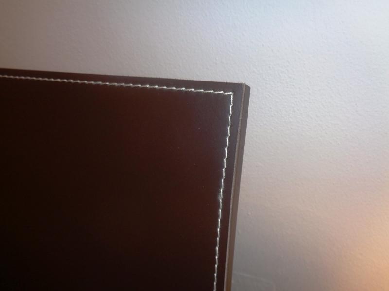 Pianca camera letto contenitore wengè people testata cuoio legno ...