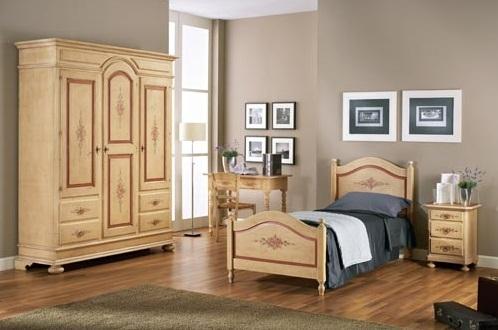 Cameretta in legno decor artigianale camere a prezzi for Camerette in saldo