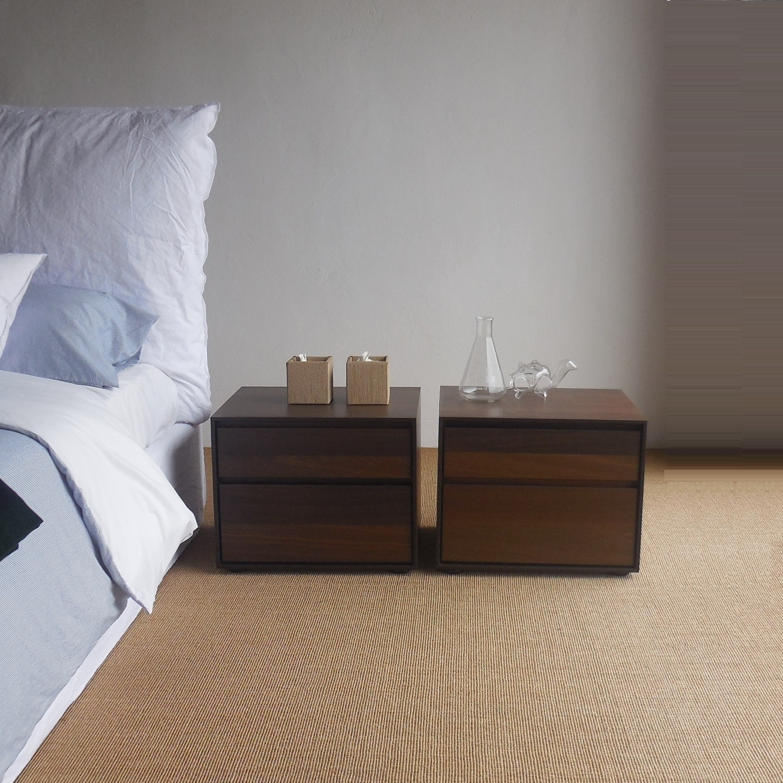 camera santarossa comodini per letto matrimoniale design