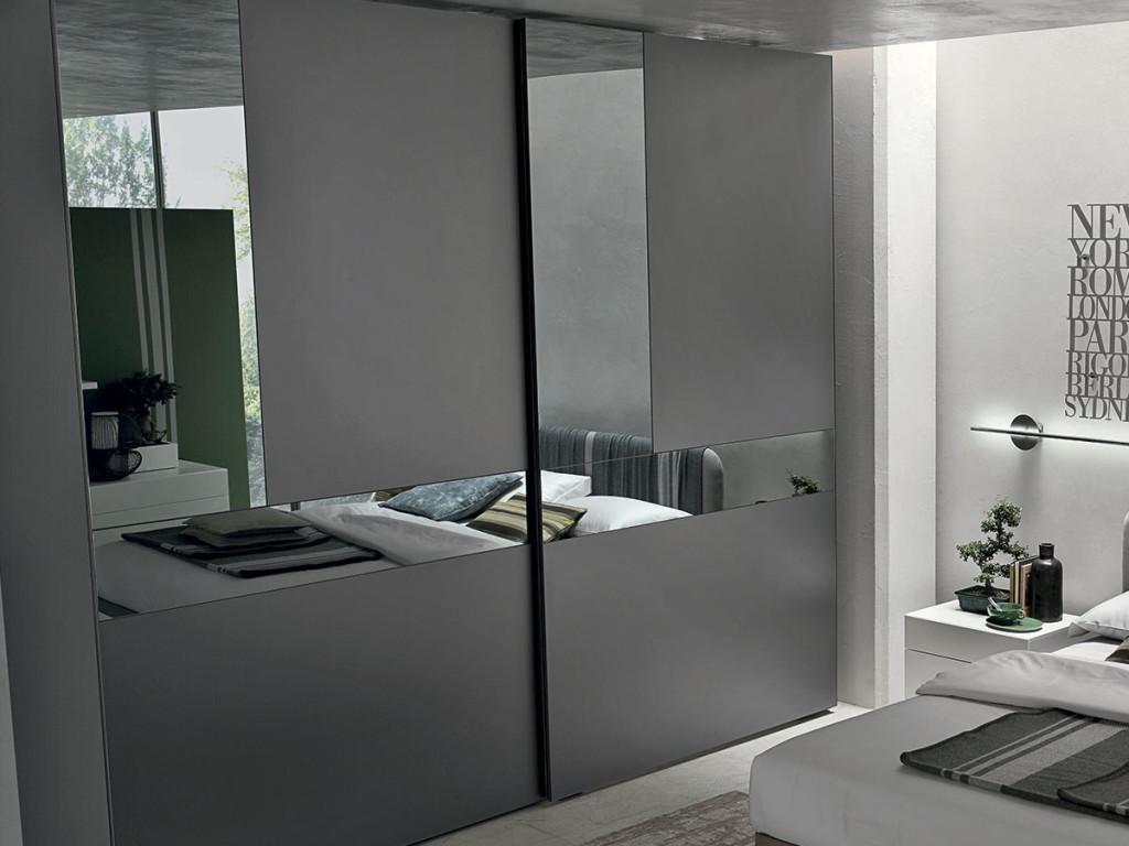 Camera Tomasella completa armadio Cristal - Camere a prezzi scontati