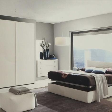 Camera matrimoniale completa con letto contenitore for Camera matrimoniale completa