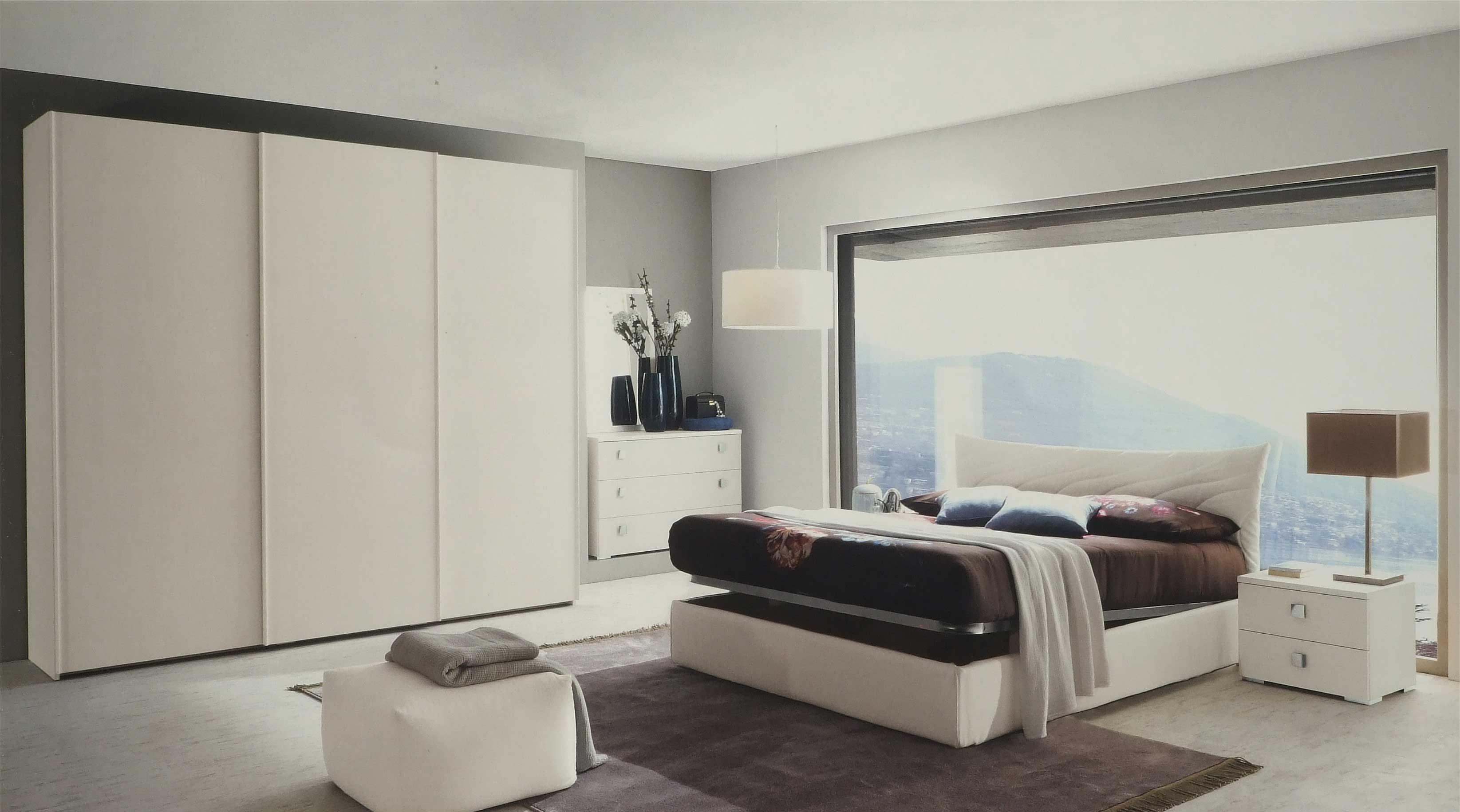 Camera matrimoniale completa con letto contenitore for Camera matrimoniale completa prezzi