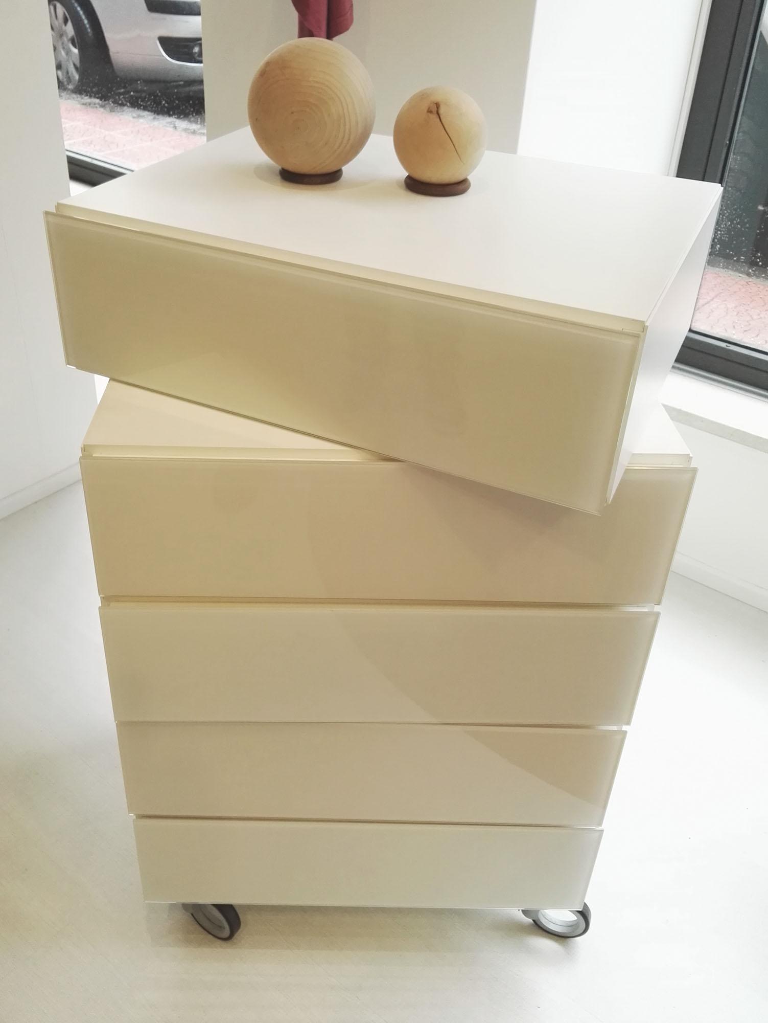 Cassettiera Per Bagno: Simple mobile bagno con cassetti ruote ...