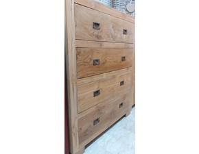 Cassettiere Legno massello Artigianale in legno a prezzo scontato
