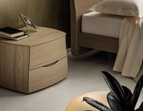 Comò e comodini Gruppo letto in legno Napol a prezzo ribassato 30%