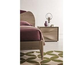 Comò e comodini in legno con design maniglia onda in Offerta Outlet