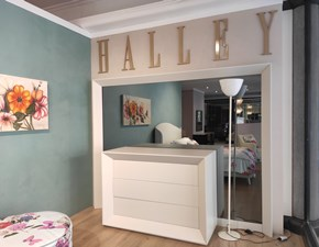 Com� e comodini Milano collection 2017 Halley in laccato opaco a prezzo scontato