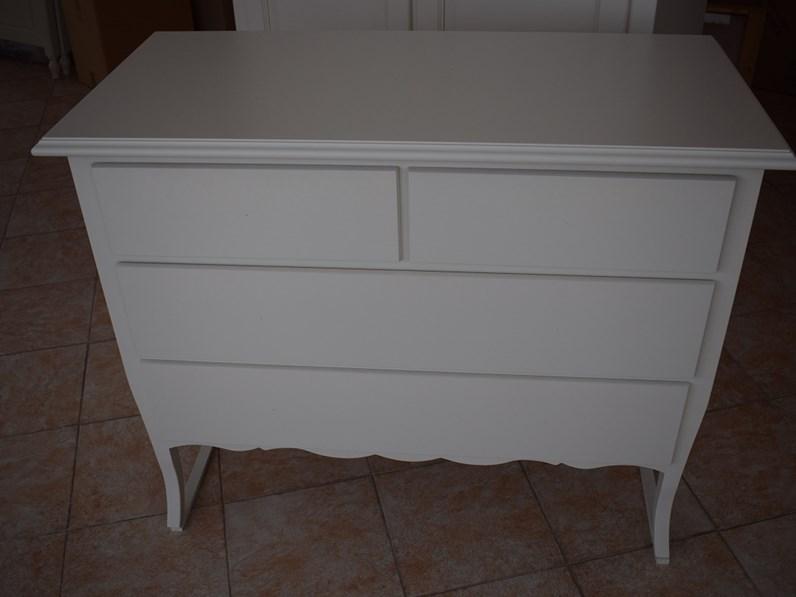 Com e comodini mobili artigianali pattinati bianco for Mobili artigianali