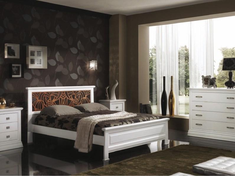 Comò e comodini Mottes mobili camera matrimoniale classica Artigianale in  legno a prezzo Outlet