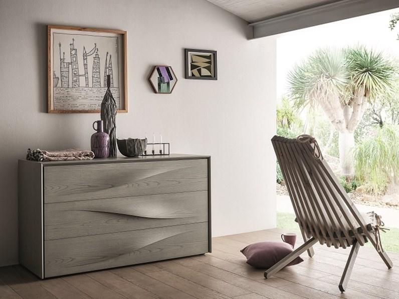 Com e comodini napol in legno di frassino prezzi outlet for Napol arredamenti prezzi