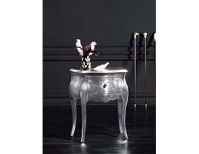 Comodini Foglia argento fine produzione Md work in legno a prezzo ribassato