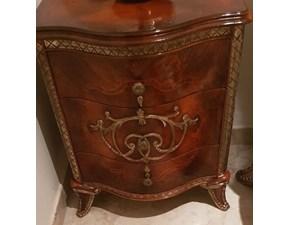 Comodino Comodino chest Cappellini in legno a prezzo Outlet