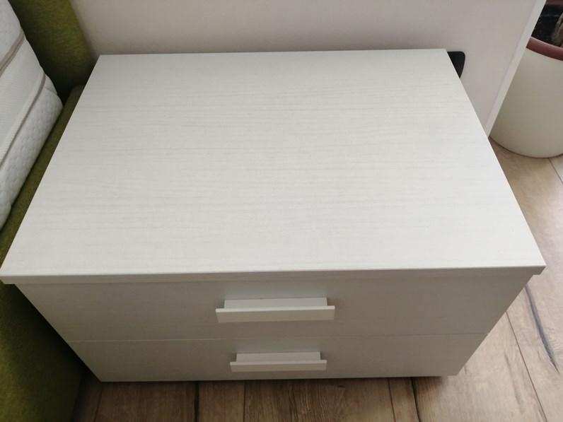 Comodino Comodino oliver Zg mobili in laminato in Offerta Outlet