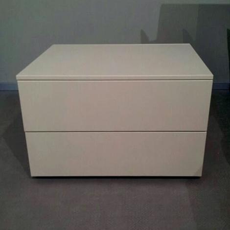 Comodino moderno 2 cassetti camere a prezzi scontati for Lops arredi distretto del design trezzano
