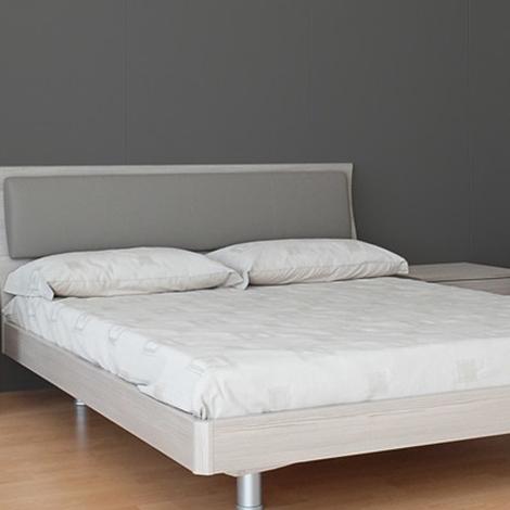 Camera matrimoniale mab letto con testiera ecopelle e luce - Testiera letto ecopelle ...