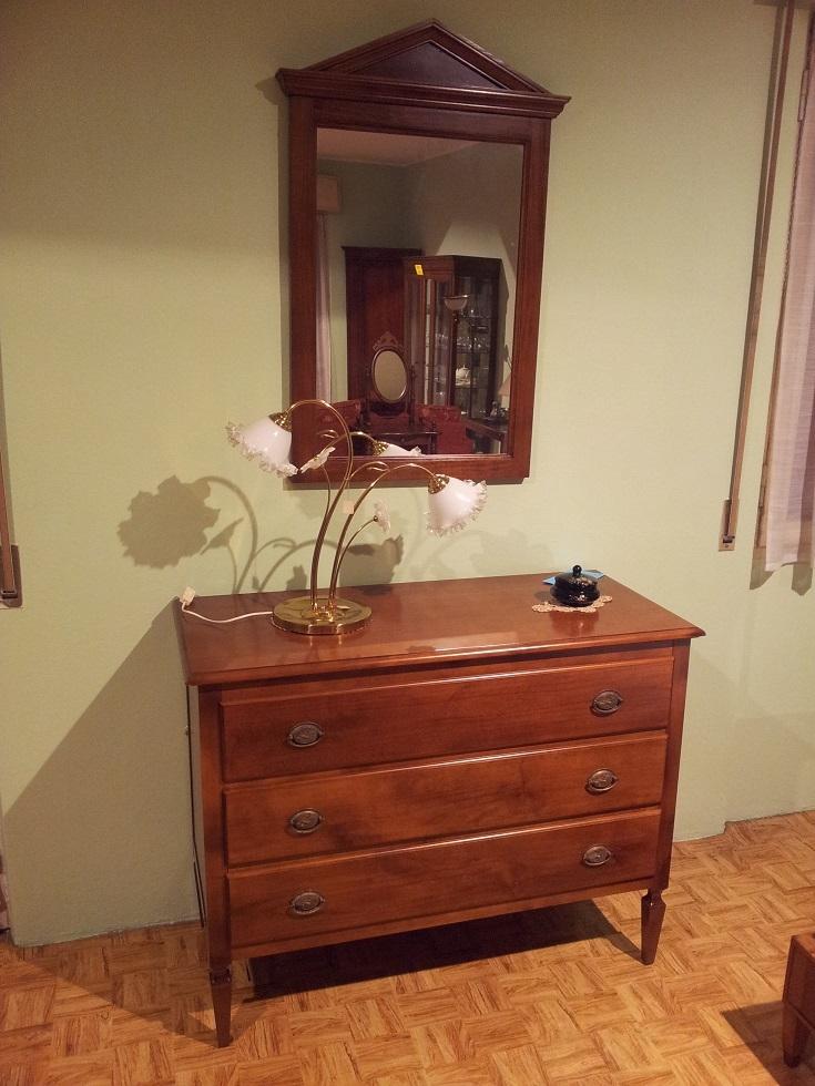 Camere da letto moderne ciliegio - Morelato mobili ...