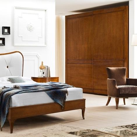 Le fablier camera mimose classico legno camera completa al for Camere da letto in legno prezzi
