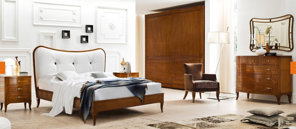 Le fablier camera mimose classico legno camera completa al - Immagini di camere da letto classiche ...